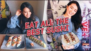 Eat the WHOLE SUSHI MENU | Kaka All You Can Eat