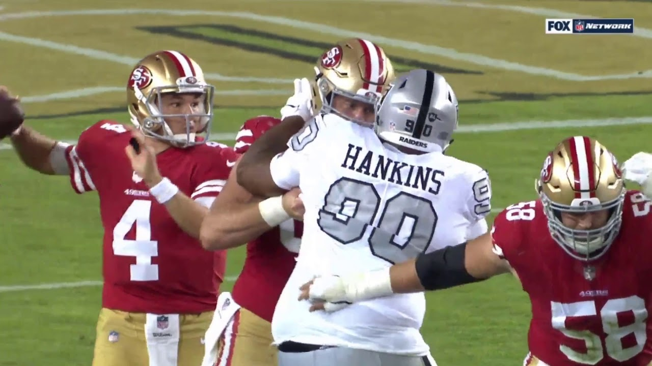9c6f573cc George Kittle One-Handed Catch | Raiders vs. 49ers | NFL - YouTube