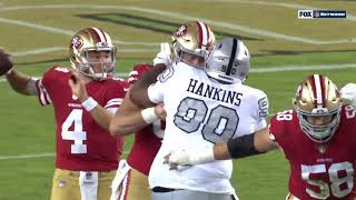 George Kittle One-Handed Catch | Raiders vs. 49ers | NFL