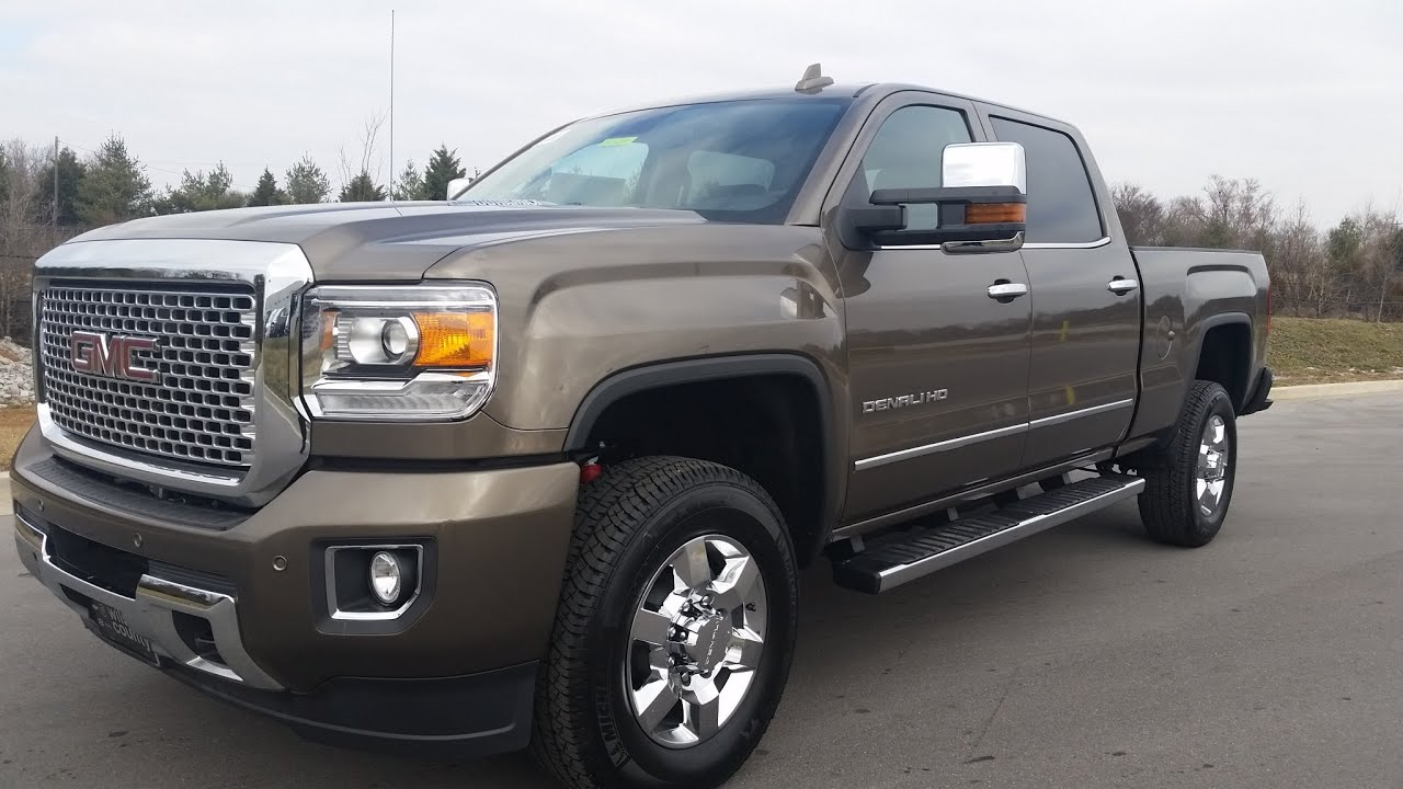 Sold 2015 5 Gmc 3500 Hd Denali Duramax Bronze Alloy