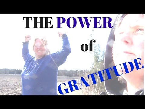 Gratitude POWER!!! Gratitude practice to find your Vision in life and make goals to a happy life