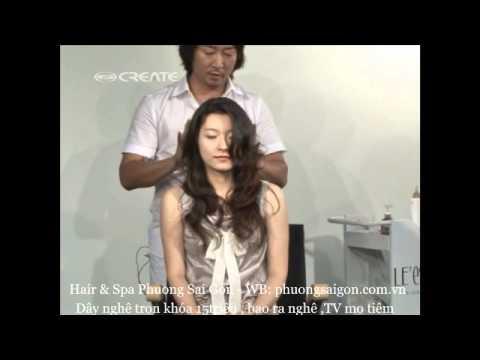 Uốn xoăn setting 3D - Hair & Spa Phương Sài Gòn - ĐT: 0909327079