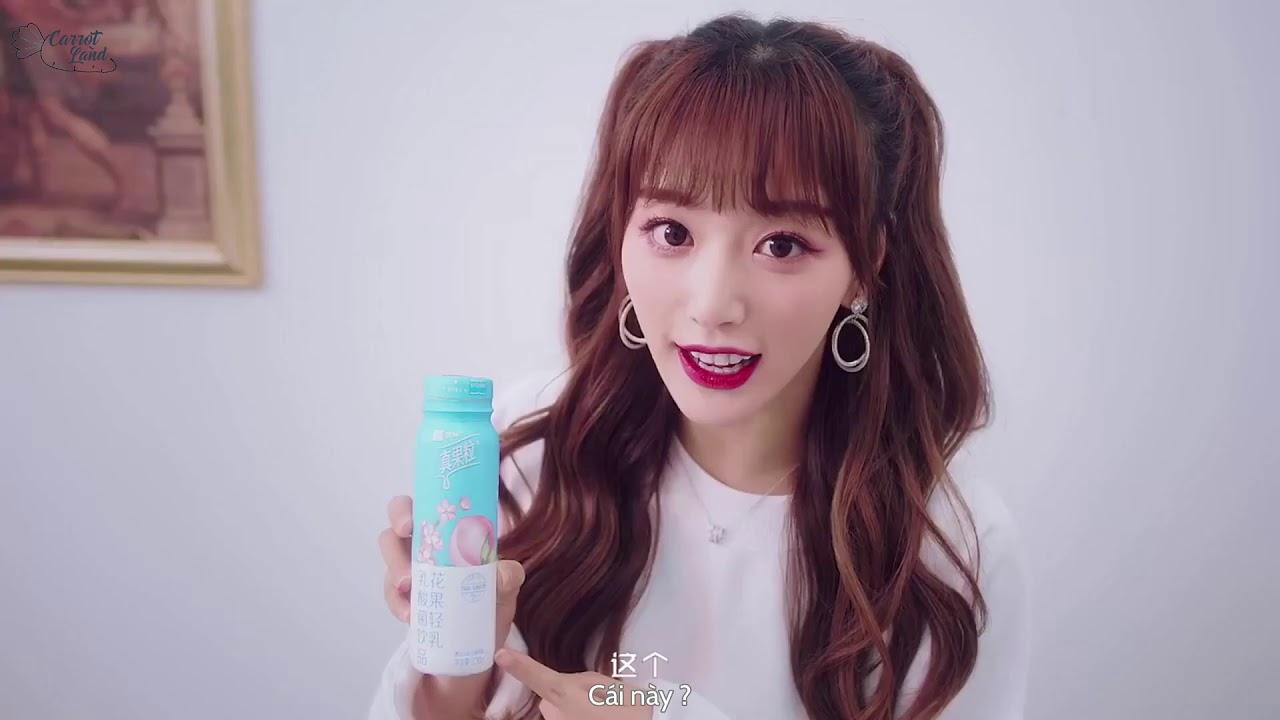 [Vietsub] Quảng cáo sữa chua uống Mengniu của Khổng Tuyết Nhi, Ngu Thư Hân, Hứa Giai Kỳ