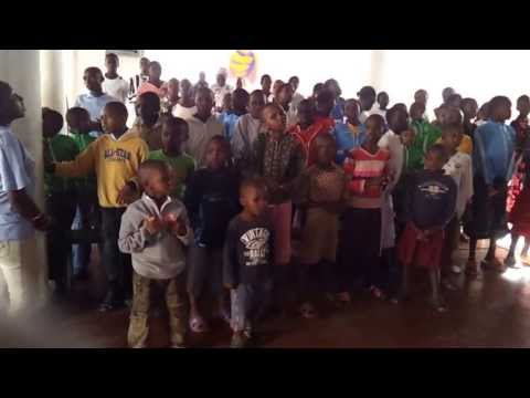 Africa Hope Center Kids worship in Swahili