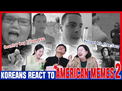Koreans In Their 30s React To American Memes2 [ENG Sub]