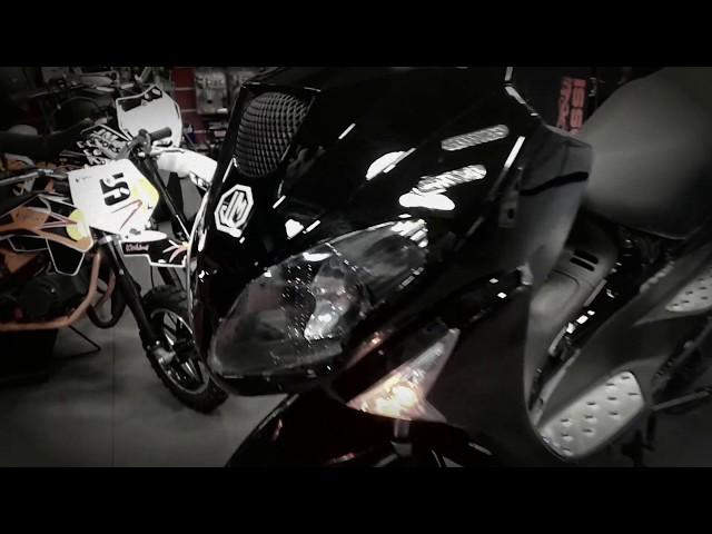 Jm Motors GTX maxi scoot 50cc 2T un gabarit digne dun elystar