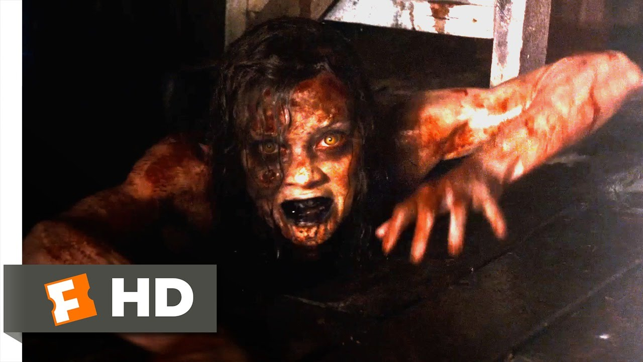 Evil Dead 9 10 Movie Clip Blood Falls Demon Rises 2013 Hd Youtube