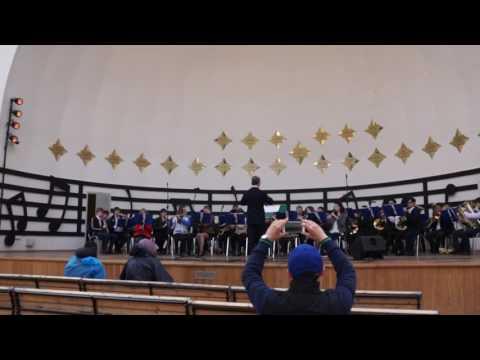 Концерт духового оркестра Московского государственного института музыки им  А Г  Шнитке в парке «Сок