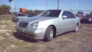 2002 Mercedes-Benz E280. Start Up, Engine, And In Depth Tour.