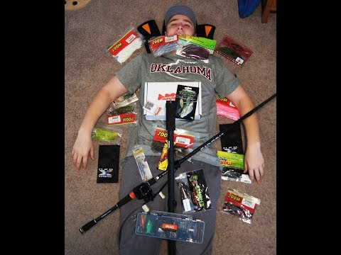 GIANT Fishing Unboxing (Rods, Lures, Camera Stuff)