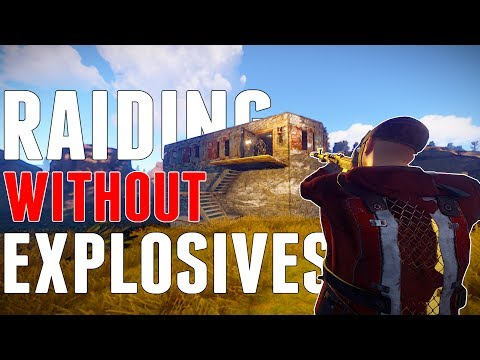 Raiding WITHOUT Explosives | Rust