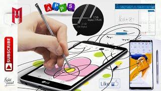 Aplicaciones para utilizar con Stylus y S-Pen. Notas, Dibujos, Calculadora, Juegos y más