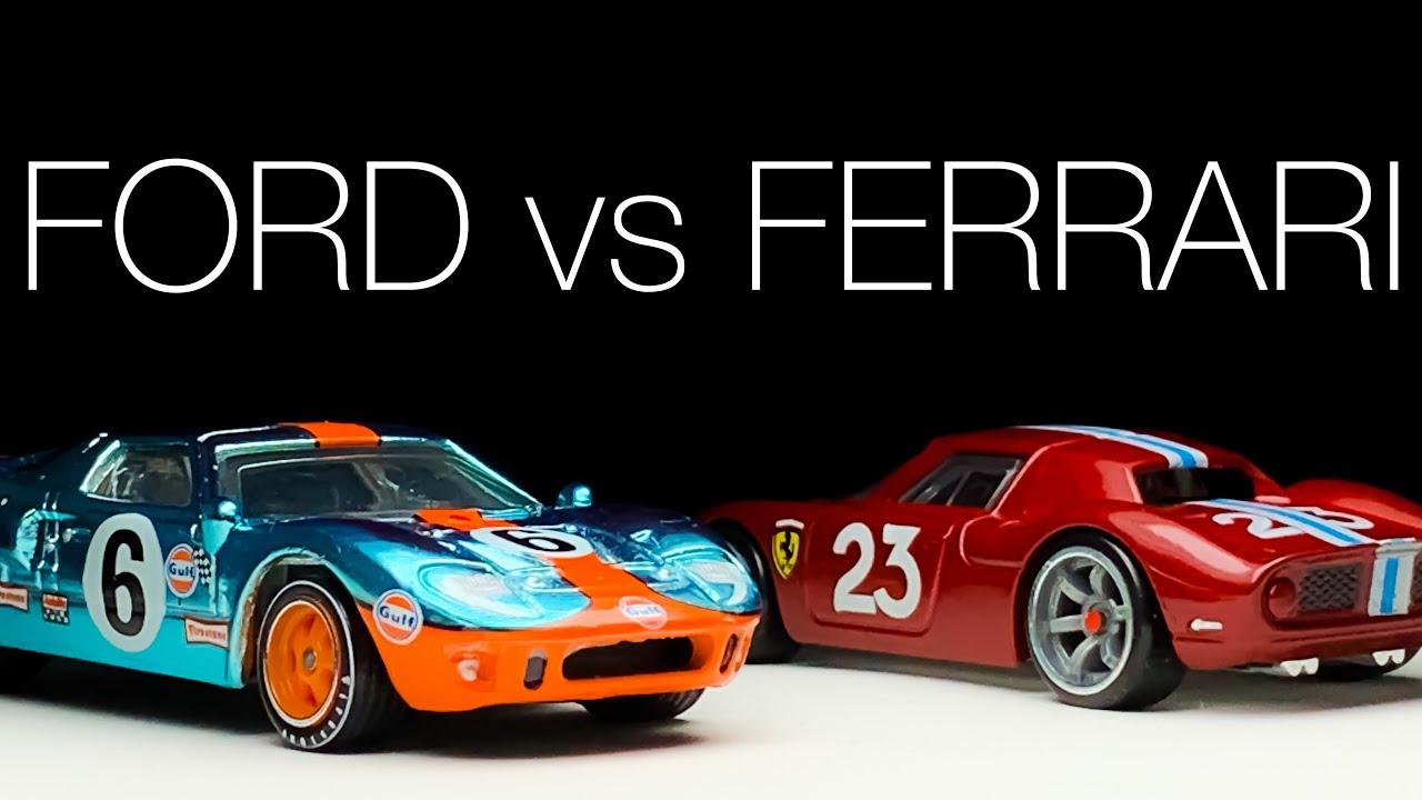 Lamley Ford V Ferrari Showcase My 5 Favorite Hot Wheels Fords Ferraris Can You Guess Youtube
