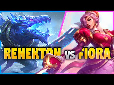 How To DOMINATE Fiora As Renekton In Season 10! League Of Legends