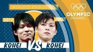 Kohei Uchimura (2012) vs Kohei Uchimura (2016) | Athlete Evolution