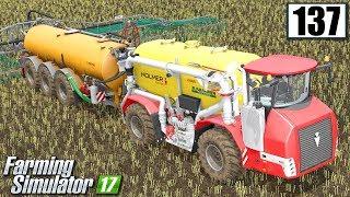 Rekordowe rozlewanie gnojowicy - Farming Simulator 17 (#137)
