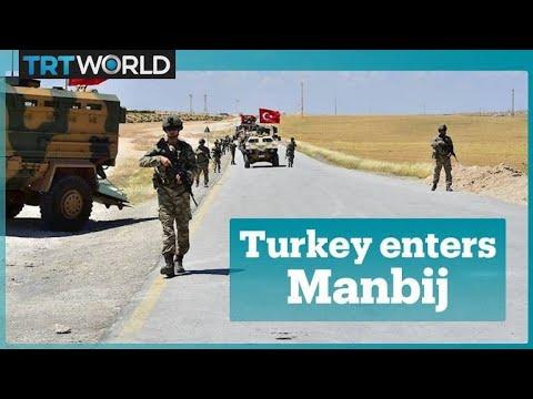 Turkish forces enter outskirts of Syria's Manbij