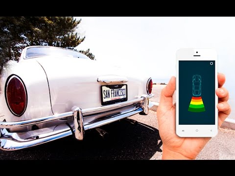 The FenSens Smart Wireless Parking Sensor For ALL Cars