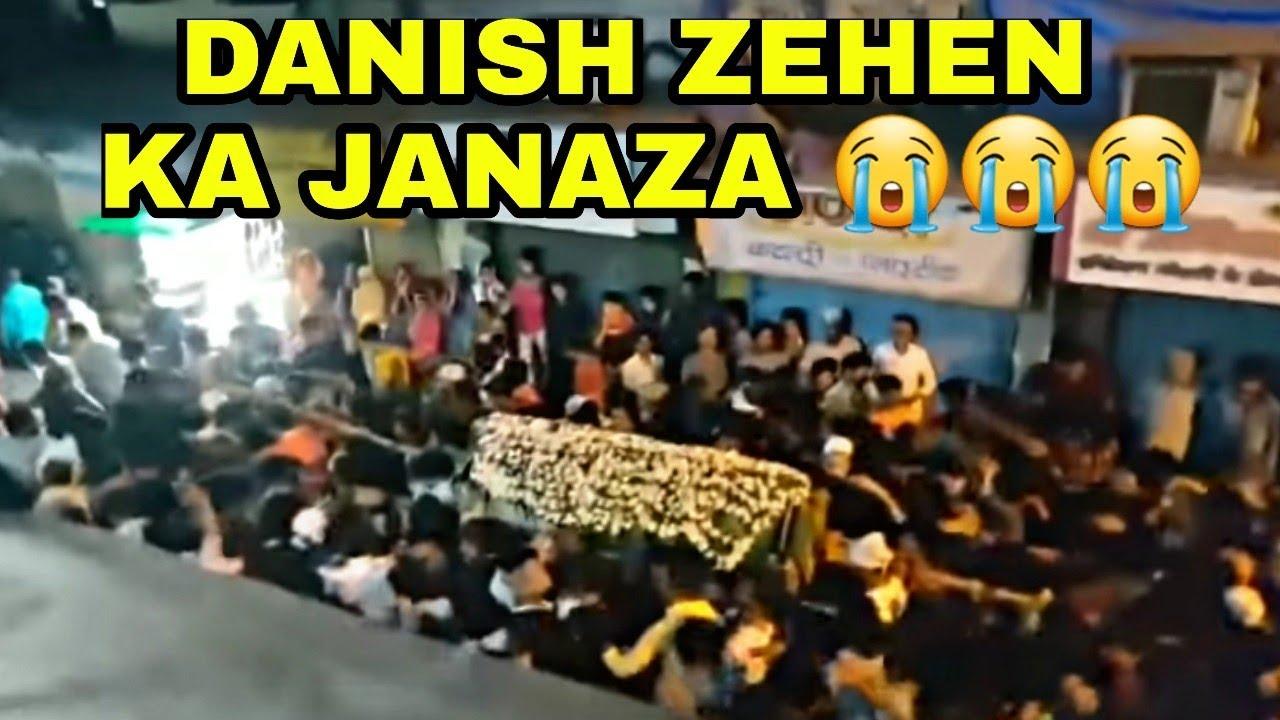Danish Zehen Ka Janaza Danish Zehen Death Youtube