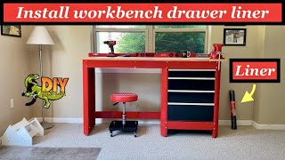How to install workbench drawer liner - UPGRADE!