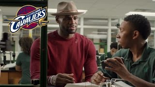 FUNNY Cleveland Cavaliers Commercials Ft. LeBron James and Kyrie Irving