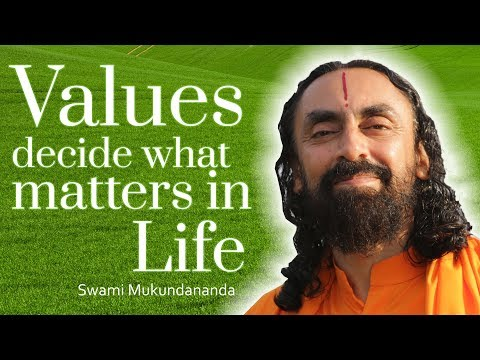 Our Values make Us Who We Are | How To Make Better Decisions Part 4 - Swami Mukundananda