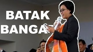 Mantap! Mentri keuangan SRI MULYANI Nyanyi Batak di Laguboti | Sai Anju Ma Au Mp3