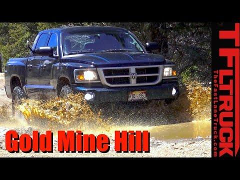 V8 Dodge Dakota Takes on Gold Mine Hill: Your Ride Reviewed!