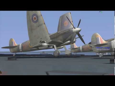Aircraft Carrier Landings - Supermarine Seafire
