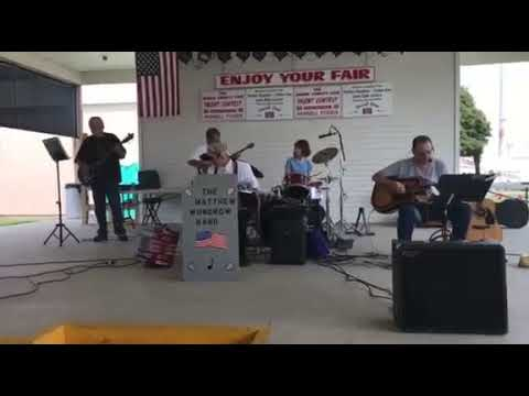 """The Matthew Wundrow Band,  """"Tennessee Waltz"""" performed at the Boone County Fair"""