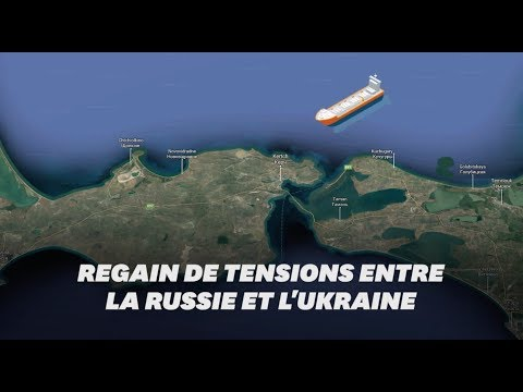 Entre l'Ukraine et la Russie, le détroit de Kertch au cœur des tensions