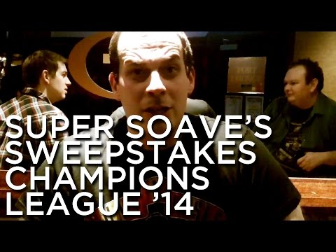 2014-01-20 'Super Soave's Sweepstakes: Champions League 2014'