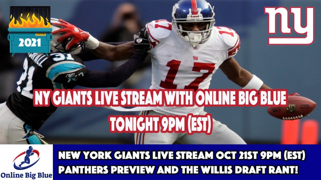 Panthers vs Giants 2021: Game time, tv, radio, streaming, weather ...