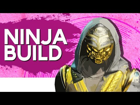 Destiny 2 - SWEAT TACTICS №01| NINJA ASSASSIN BUILD! (Nightstalker Build Guide)