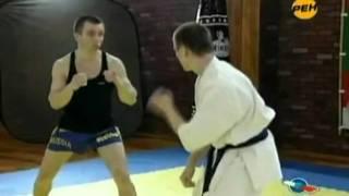 Каратэ против кикбоксинг.(Описания нет., 2011-09-07T10:02:01.000Z)