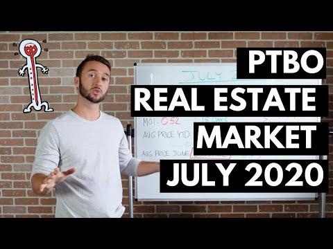 July 2020 Real Estate Market Update - Peterborough Ontario