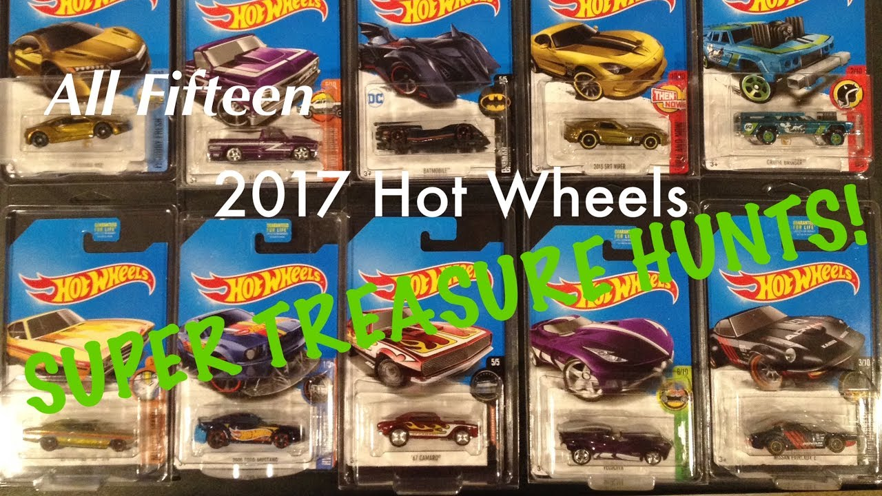 2017 hot wheels super treasure hunts youtube. Black Bedroom Furniture Sets. Home Design Ideas