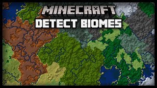 How to dedect biomes in Minecraft 1.13 (advancement tutorial)