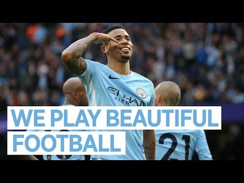 WE PLAY BEAUTIFUL FOOTBALL | Gabriel Jesus Reaction | City 7-2 Stoke