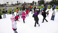Snow day at Pinedale Elementary