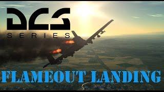 DCS A-10C Flameout Landing