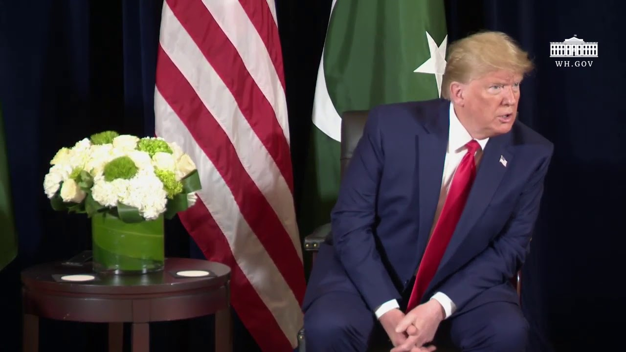RSBN President Trump Participates in a Bilateral Meeting with the President of Pakistan