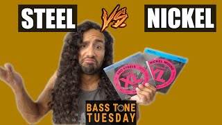 Stainless Steel vs Nickel Bass Strings | Bass Tone Tuesday