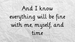 Me Myself And Time Demi Lovato Lyrics On Screen HD