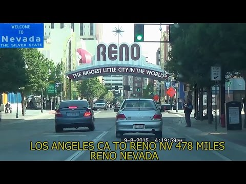Los Angeles CA to Reno NV 2015 HD