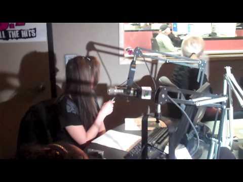 CW 50 Detroit's Gossip Girls visit The Buckhead Show at 98.7 Amp radio!.mp4