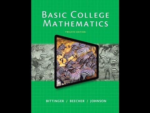 Basic College Mathematics 12th Edition Pdf