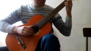 Ария - Беспечный Ангел на гитаре (Fingerstyle)