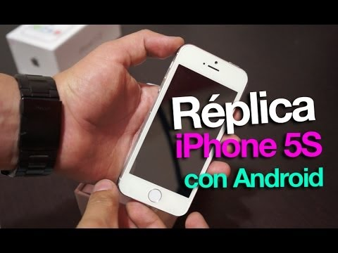 Réplica 1:1 iPhone 5S con Android
