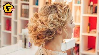 СВАДЕБНАЯ ПРИЧЕСКА в греческом стиле ✓ GREEK STYLE WEDDING HAIRSTYLE